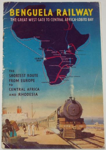 Benguela Railway - The Great West Gate to Central Africa - Lobito Bay